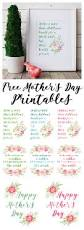 beautiful peony watercolour free mother u0027s day printables the