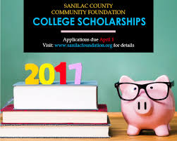 scholarship applications due by april 1 2017 sanilac county