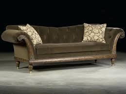Velvet Sectional Sofa Chaise Velvet Tufted Sleeper Chaise Lounge Grey Button Settee