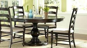 round dining table for 6 with leaf dining table and 6 chairs ebay nhmrc2017 com