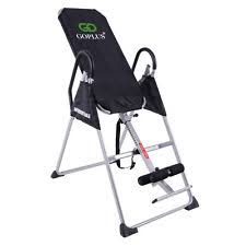 inversion table for neck pain sturdy deluxe inversion therapy table gravity neck back pain folds 5