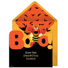 free elmo boo invitations elmo halloween parties and halloween