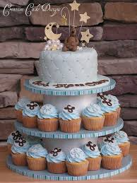 baptism boy cupcake tower love how this turned out cake i u2026 flickr