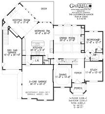 castlebrook manor house plan house plans by garrell associates inc