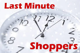 5 marketing tips to capture last minute shoppers