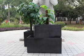 large garden planters plastic margarite gardens