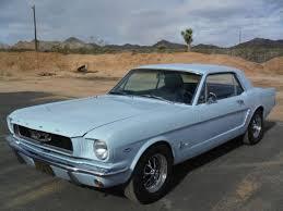 1965 Mustang Black 1965 Mustang 289 V8 C Code California Car Rust Free Black And