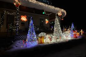 amazing christmas lights displays in the northern berkshires