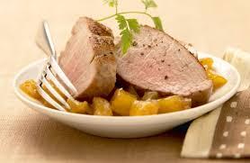 cuisiner un filet mignon de porc filet mignon de porc au chutney d ananas recettes de cuisine