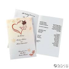 images of wedding programs wedding programs