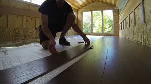 Click And Lock Laminate Flooring 2 Laminate Flooring Install One Row Youtube