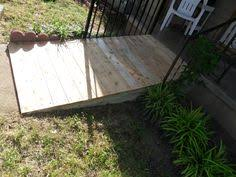 how to build a wheelchair ramp handicap ramp slope handicap