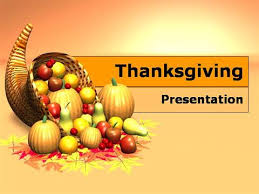 free thanksgiving day powerpoint template authorstream