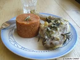recette cuisine vapeur cuisses de poulet vapeur au romarin et polenta recette de cuisine