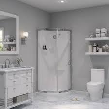 Corner Bathroom Showers Shop Corner Shower Kits At Lowes