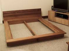 Low Platform Bed Plans by Image Of Create Ultra Elegance Of Bedroom With A New Collection Of