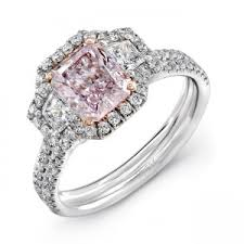 light pink engagement rings pink engagement rings naturally colored pink diamonds