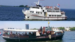 Hull Ferry Port Car Parking Arrival By Boat I Amsterdam