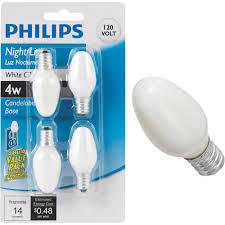 Philips Landscape Light Bulbs by Philips C7 Incandescent Night Light Bulb Walmart Com