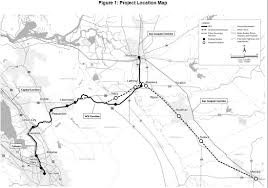 Bart Extension Map by Notice Of Preparation Of An Environmental Impact Report Ace