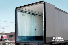 rear strip door curtain randall temp control
