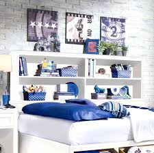 Bookcase Headboard Queen Bed Bookcase Full Size Bed Frame With Bookshelf Queen Bed Frame With