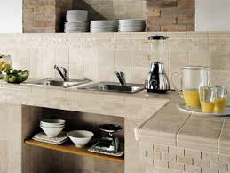 kitchen counter decor ideas l shaped brown wooden cabinets white