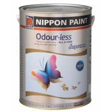 nippon paint odourless supreme creamy white in 5 litres lazada