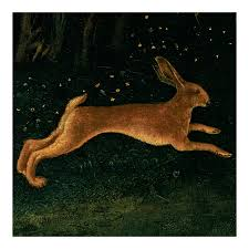 hare christmas decoration national gallery shop