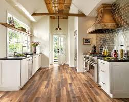 waterproof laminate flooring kitchen farmhouse with pendant light