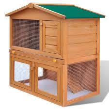 Come Costruire Una Casetta Per Conigli by Vidaxl Gabbia Coniglio All U0027aperto Casa Piccoli Animali Domestici 1