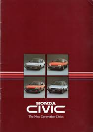 trigs brochure scans honda civic 1984 autoshite autoshite