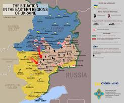 Map Of Ukraine And Crimea Russia U0027s Non Linear Approach To War In Ukraine Russia Direct