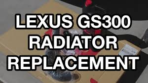 lexus gs430 lower ball joints 1998 2005 lexus gs300 radiator replacement youtube
