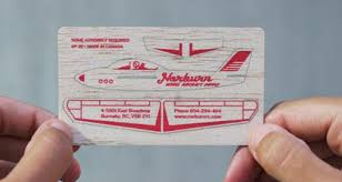 Clever Business Cards Clever Business Card For Model Airplane Company