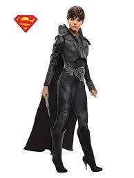 Female Superhero Costume Ideas Halloween Man Steel Faora Costume Wholesale Superman Costumes