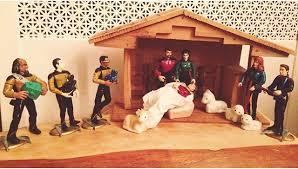 trek nativity geeky decorations popsugar