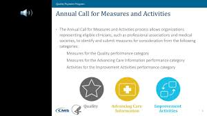 macra merit based incentive payment system annual call for