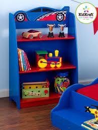 kidkraft racecar bookcase 76042