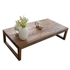 center tables antique rustic vintage pine coffee center table wooden living room