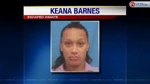 Barnes Los Angeles La Fugitive Keana Barnes Captured In Los Angeles
