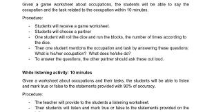 td occupations top down lesson plan docx google docs