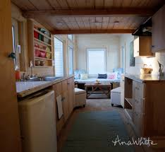 the wild rose 24 foot tiny house photo tour ana white