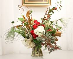 how to make flower arrangements christmas flower arrangements flower magazine home lifestyle