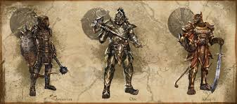 elder scrolls online light armor sets elder scrolls online shows off heavy armor styles