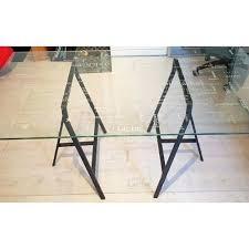 verre pour bureau bureau plateau verre ikea plateau de verre bureau plateau verre