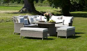 bramblecrest garden furniture oakridge modular sofa with square
