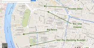Bangkok Map From Bangkok Airport To Bangkok Center How To Arrive To Bangkok