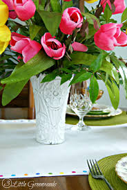 Garden Table Decor Thrifty Table Setting Ideas For Easter