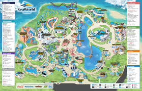 Universal Park Orlando Map by Sea Worls Theme Park Orlanfo Florida Orlando4travel